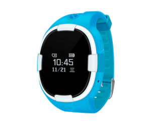 Kids Watch GPS Tracker Position by GPS WiFi Lbs Gpt18 pictures & photos