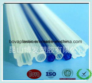High Quality of China Factory HDPE Non-Toxic Multi-Groove Medical Grade Catheter for Sheath pictures & photos