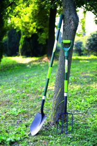 Garden Tools Forged Steel Shovel Garden Spade with Fibreglass Handle pictures & photos