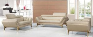 Modern Leather Sofa Living Room Sofa with Genuine Leather Sofa pictures & photos