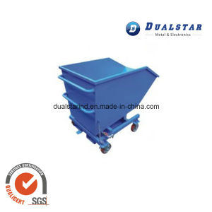Metal Four Wheeled Barrow for Transport Soil