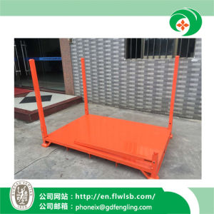 Hot-Selling Metal Folding Stacking Frame for Warehouse by Forkfit pictures & photos