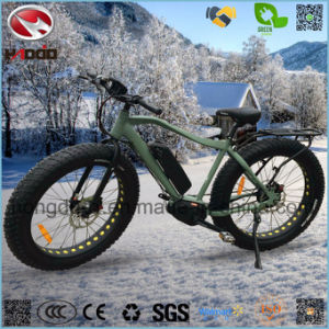 Alloy Frame Fat Tire Ebike Electric Beach Bicycle for Adult pictures & photos