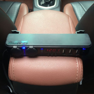 Car Vehicle Headrest USB Charger with 3 Ports 5V 6A USB Socket 2 Ports DC 12V pictures & photos