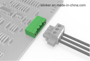 Plug Header Terminal Block with Flange