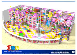 Candy Themed Indoor Playground with High Quality pictures & photos