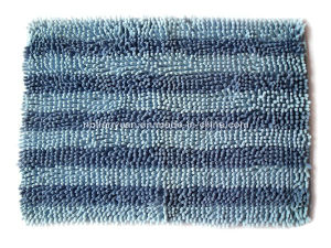 Stripechenille Bath Mat Bathroom Mat