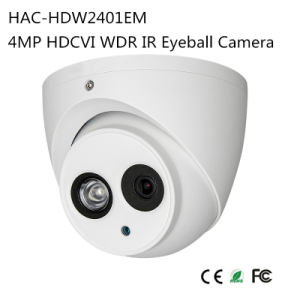 4MP Hdcvi WDR IR Eyeball Camera (HAC-HDW2401EM) pictures & photos