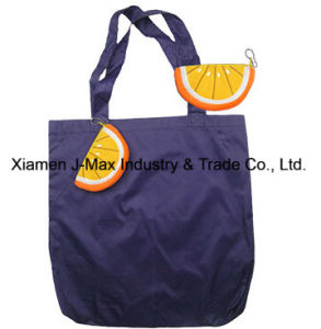 Foldable Shopper Bag, Fruits Orange Style, Reusable, Lightweight, Grocery Bags and Handy, Gifts, Promotion, Tote Bags, Accessories & Decoration pictures & photos