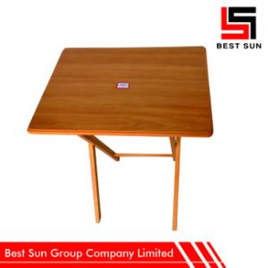 Portable Table Wooden, Custom Color Extendable Table pictures & photos