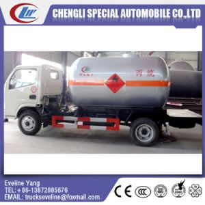 5-8m3 1300-2000GLS 3300 Wheelbase 4X2 LPG Tank Truck pictures & photos