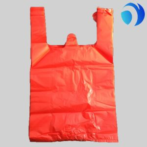 Custom Printing LDPE HDPE Thank You T Shirt Plastic Shopping Bags pictures & photos