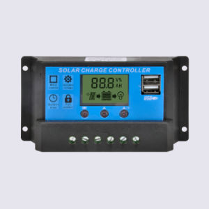 12V/24V 10A 20A 30A Automatic PWM Solar Charge Controller pictures & photos