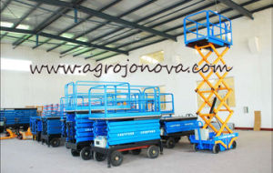 Manual Platform Forklift Truck Jn Ce pictures & photos
