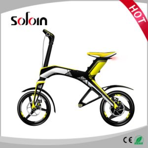 City Foldable Brushless DC Motor Electric Bike/ Scooter (SZE300B-1) pictures & photos