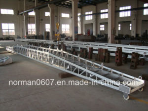 15m Length Marine Bridge Gangway, Marine Wharf Ladder, Aluminum Ladder pictures & photos