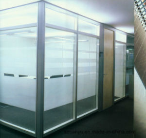 Single Glass Wall Aluminium Office Partition pictures & photos