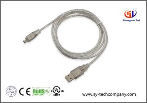 USB to IEEE 1394 4 Pin Firewire Ilink Adapter Cable pictures & photos