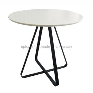 Leisure Cross Base Round Restaurant Table for Cafe (SP-RT409) pictures & photos