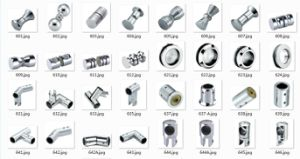 Sliding Door Hardware of Bathroom Pipe Connector (FS-634) pictures & photos