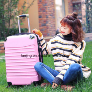 Bw1-044 ABS+Film/PC Luggage Bag Suitcase New Design Travel Trolley Luggage pictures & photos