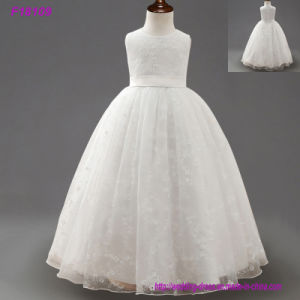 Weddings Ball Gown Cheap Pink Girl Communion Dress pictures & photos