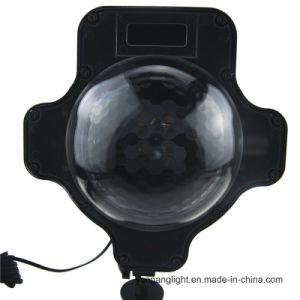 New Designed Shaped Laser Light Projector Light Snowfall Light with RF Remote pictures & photos