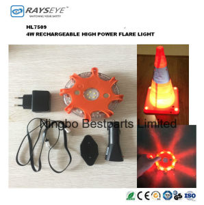 Rechargeable 4W LED Strobe Warning Safety Light pictures & photos