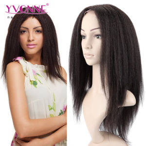 Yaki Brazilian Hair Lace Front Wig pictures & photos