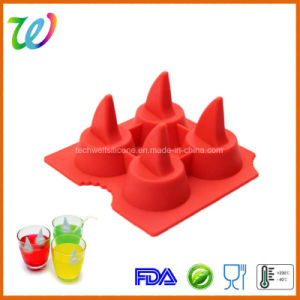 Party Jelly Chocolate Shark Fin Ice Cube Maker Tray Silicone Mould