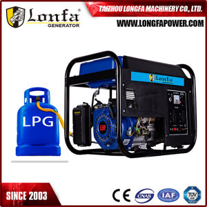 Home Use 3kw/3kVA Electric Start Natural Gas LPG Gasoline Generator for Sale pictures & photos