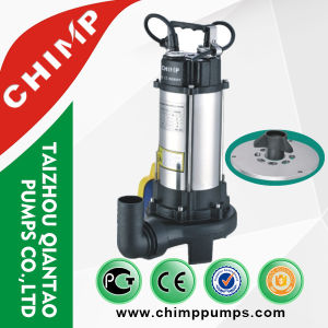 2.0 HP V1500 Copper Wire Sewage Sumbersible Water Pump pictures & photos