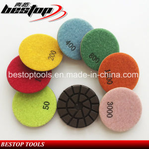 3 Inch Wet Floor Polishing Pad for Concrete pictures & photos