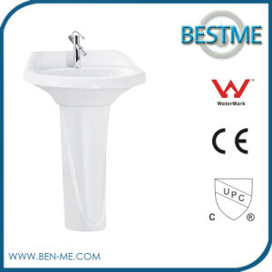 Ceramic Bathroom Sanitary Ware Art Free Standing Basin pictures & photos