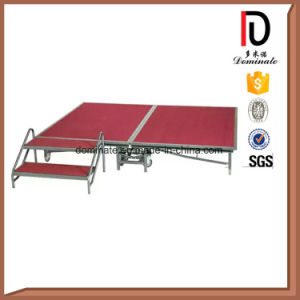 Outdoor Concert Use Aluminium Metal Folding Movable Wedding Portable Stage pictures & photos