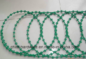 Concertina Razor Wire with Clips Single&Cross Razor Type China Manufacturer Supply pictures & photos