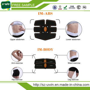 Multi-Function EMS Abdominal Exerciser Device Abdominal Muscles Intensive Training Electric Weight Loss Slimming Massager pictures & photos