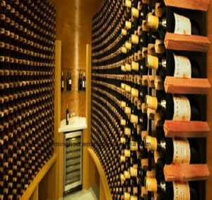 Residential Wine Cabinet Customize Wine Cellar for Wooden Home Furniture pictures & photos