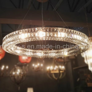 European Luxury Big Circle crystal Egyptian Crystal Chandelier pictures & photos