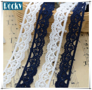 DIY Handmade Lace 100% Cotton Embroidered Lace Trimming