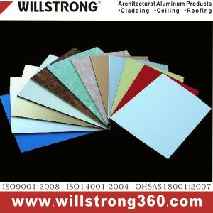 Willstrong PVDF Coating Aluminum Composite Panel for Interior&Exterior Decoration pictures & photos