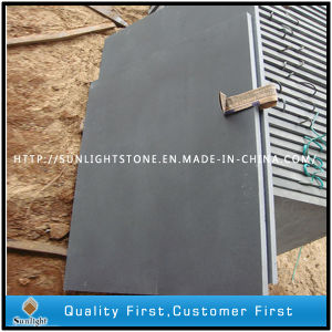 Hainan Dark Basalt Tiles, Honed Grey Basalt, Black Basalt pictures & photos