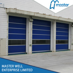 Good Quality PVC Roller Shutter Door/Customized Size PVC High Speed Rolling Shutter pictures & photos