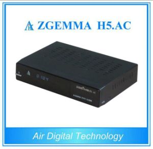 Original Official Softwares DVB-S2+ATSC Hevc/H. 265 Twin Tuners Zgemma H5. AC Digital TV Receiver pictures & photos