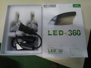 Factory Newest H11 Fanless LED Headlight 30W 3800lm 6200k pictures & photos