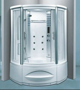 1230mm Sector Steam Sauna with Jacuzzi (AT-G8208F) pictures & photos