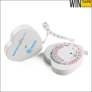 150cm Custom Healthy BMI Calculator Body Tape Measure (BMI-016) pictures & photos