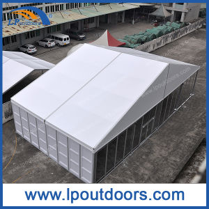 20m Clear Span Outdoor Large Luxury Aluminum Event Tent with Glass Wall pictures & photos