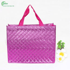 High Quality Promotion Laminated Non Woven Shopping Bag (KG-PN006)