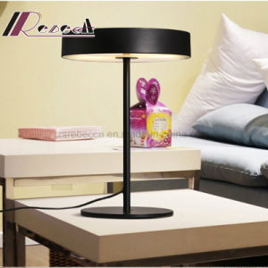 Modern Steel Matt Black Table Light for Bedroom pictures & photos